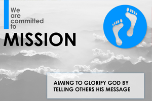 Committed to Mission text