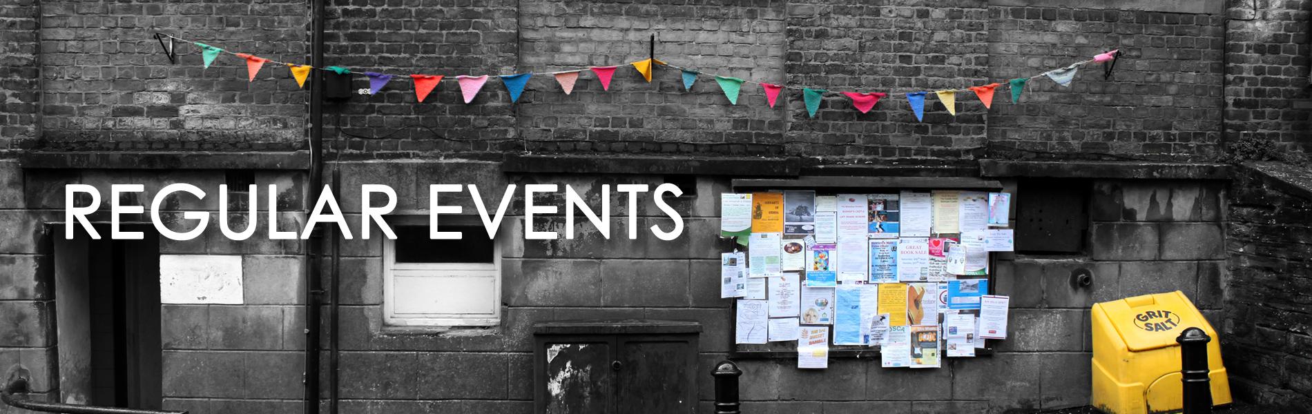regular events